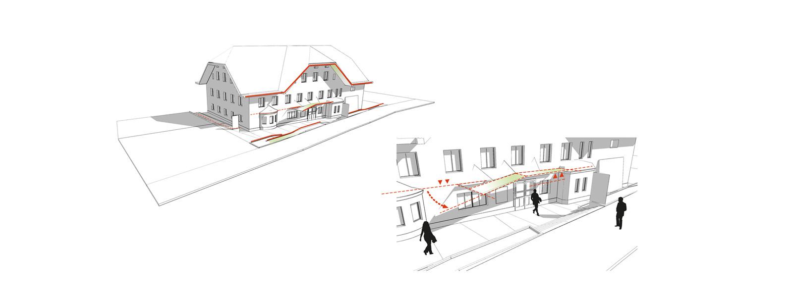 rbs vorplatz gp architektur. Black Bedroom Furniture Sets. Home Design Ideas